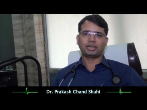 Dr Prakash Chand Shahi talks on Chest Pain(Angina) (Hindi)
