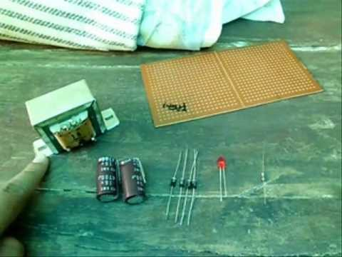 How To Make a 12V Power Supply (adapter)