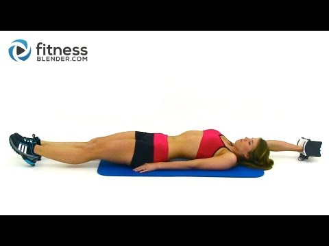 Weight Training Workout for Weight Loss - Fat Burning Functional Strength Training Workout