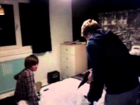 Neil makes cat do a backflip