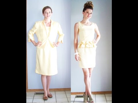 Chic on the Cheap: Hello Yellow Dress Makeover