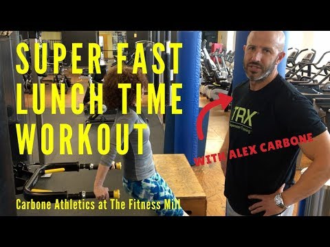How To Workout at Lunchtime: The Fitness Minute