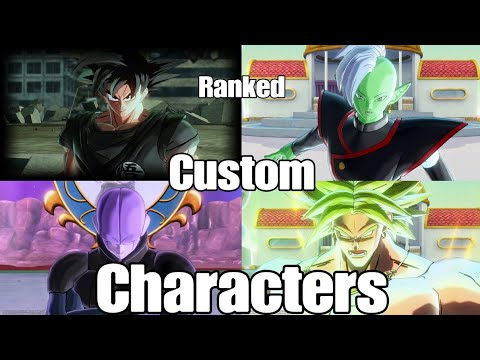 |THE POSSIBILITYS ARE ENDLESS| Dragon Ball Xenoverse 2 Custom Partners (Ranked Online Battles)