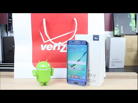 Verizon Galaxy S6 Edge Unboxing Best Phone Ever?!