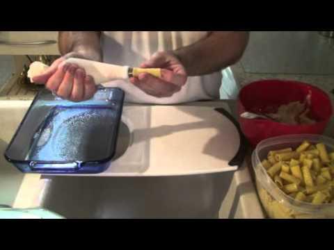 Chicken Stuffed Rigatoni