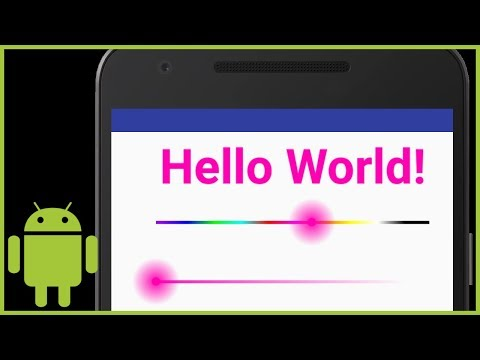 ColorSeekBar Library - Android Studio Tutorial
