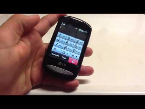 LG 800g Cell Phone Review/Overview - Tracfone