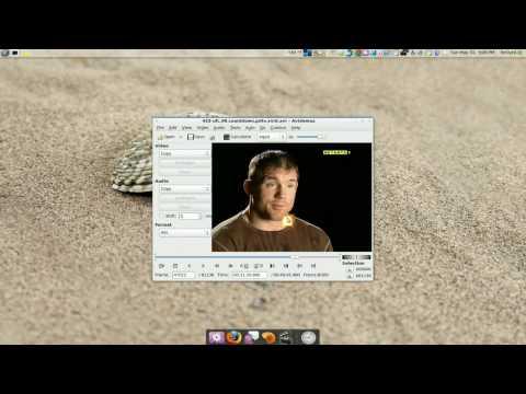 Audio Error Fix - Avidemux - Ubuntu 9.04