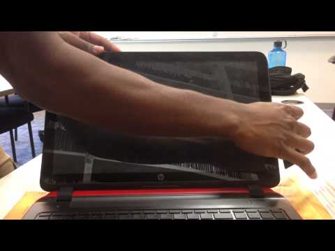 Laptop screen replacement / How to replace laptop screen [HP-Compaq PAVILION 15-P030NR]