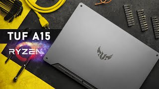 The AMD Hits Keep Coming!  ASUS TUF A15 Gaming Laptop Review