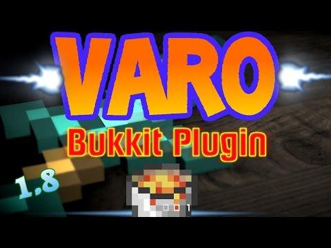 VARO Bukkit/Spigot Plugin [1.8] Server erstellen + Download