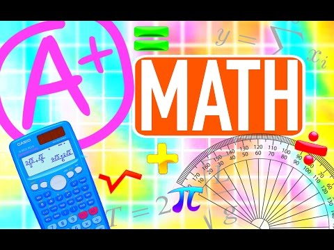 A+ MATH HACKS | HOW TO STUDY MATH!! | Paris & Roxy