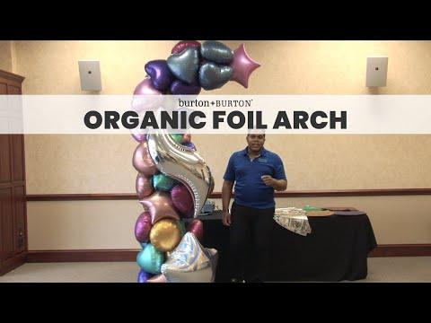 Creative Solutions™ Design Lab: Organic Foil Arch