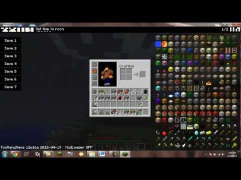 Miencraft How to Download and Install TooManyItems Mod 12w16a