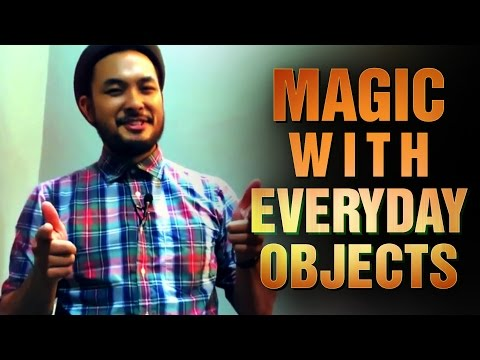 Coffee Shop Magic Tricks: Magic Tricks With Everyday Objects!