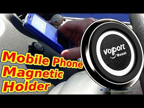 Volport magnetic car holder