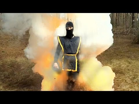 Powerful homemade smoke bomb for airsoft ( Legendary smoke mix )
