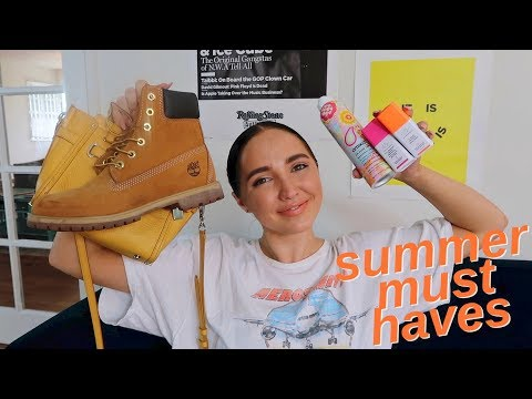 things I'm loving right now   what you need for summer 2018