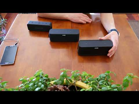 Anker SoundCore Bluetooth Speaker Comparison - SoundCore 2 Boost and Pro - Specs and Overview in 4K