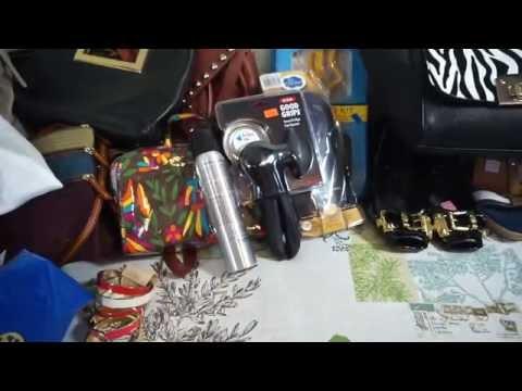 Designer Thrift Haul Coach, YSL , Michael Kors etc