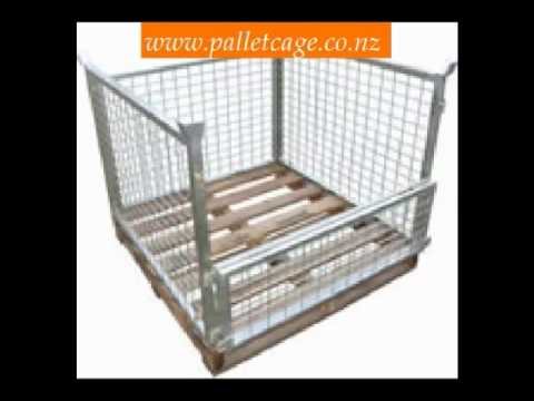 Pallet Cages New Zealand.wmv