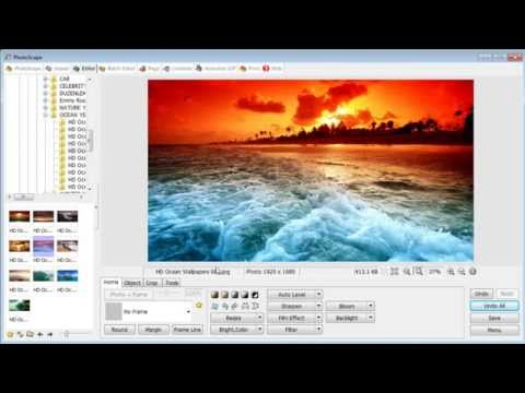 Easy way to edit photos and create photo collages on PhotoScape (2015)