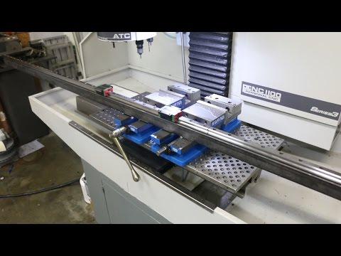 5 x 10 Plasma / Router Table Build - Part 3 - Linear Rails Mounted
