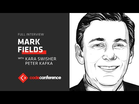 Prepping for a world where fewer people buy cars | Mark Fields, CEO Ford | Code Conference 2016