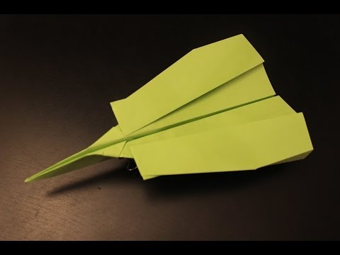 How to make a super fast paper plane origami ever: instruction| Enigma