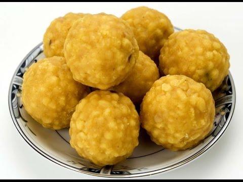 Laddu making | లడ్డు - How to prepare Laddu - CookFunz