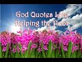 Live Helping The Poor  | 🙏 God Quotes