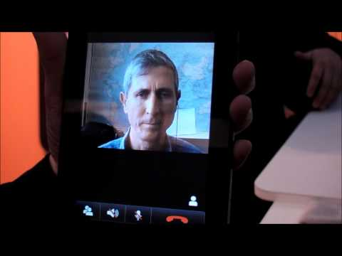 ooVoo on Samsung Galaxy Tab