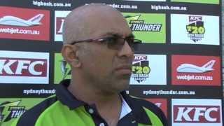 Chandika Hathurusinghe to coach the Sydney Thunder
