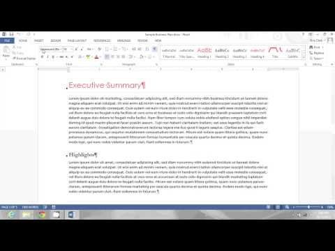 How to Get Rid of Paragraph Marks in Between Words on Microsoft : Microsoft Office Lessons