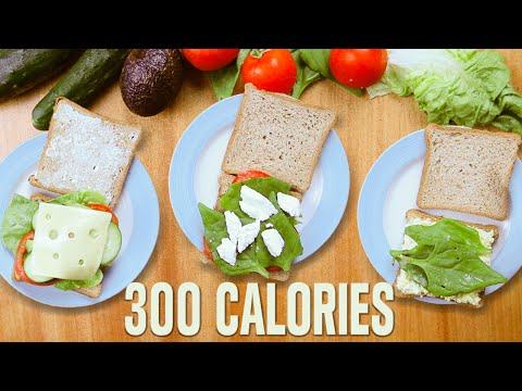 3 Healthy Vegetarian Recipes, Vegetarian Sandwiches