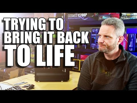 I tried to bring the AMD system back from the dead...