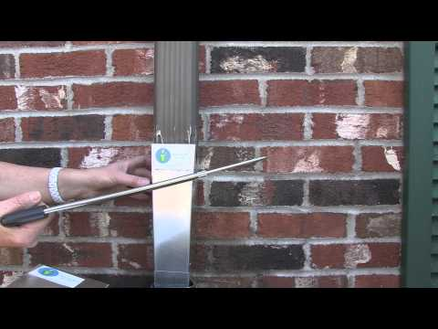Helpful Hints-Cutting the Downspout