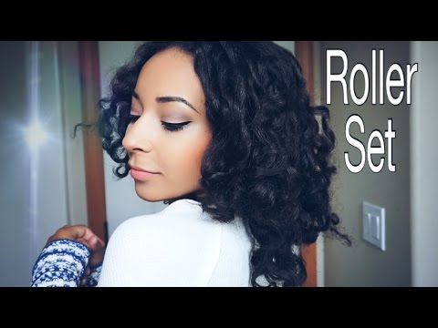 My Roller Set Tutorial & How I Preserve My Curls // Natural Hair