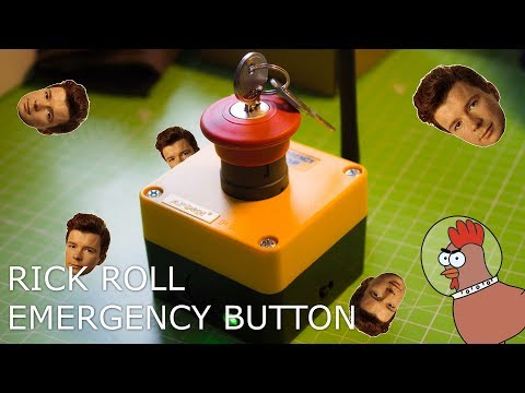 Rick Roll - Emergency Button (ESP8266 Deauther v2)