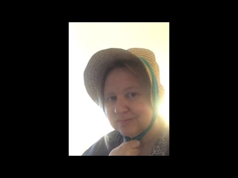 Making a Victorian Bonnet - Part One