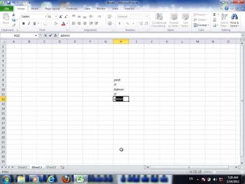 Excel 2010 video 1 OPTION Quick access toolbar customization and Ribbons Customi