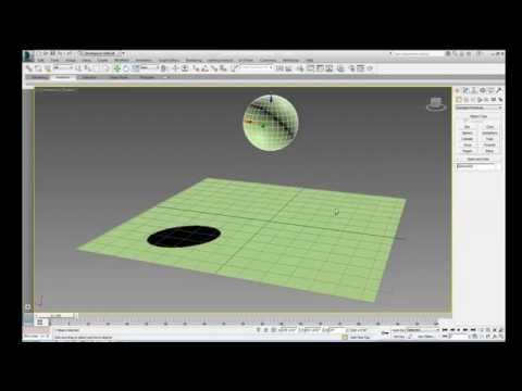 3ds Max Tutorial 7: Animate a Bouncing Ball
