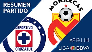 Resumen y Goles   Cruz Azul vs Morelia   Jornada 14 - Apertura 2019   Liga BBVA MX
