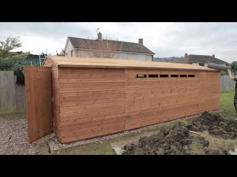 EasyShed Build Time-lapse