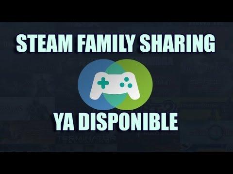 Noticia - Steam Family Sharing ya disponible  | Pulsa START