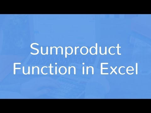 SUMPRODUCT formula for total cost calculation in Excel | Hindi