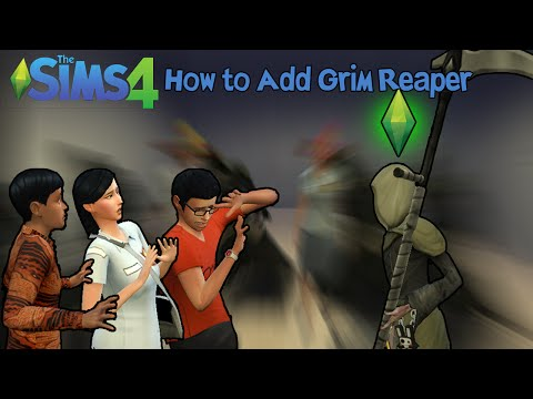 The Sims 4: How to Add Grim Reaper to Household and His Abilities