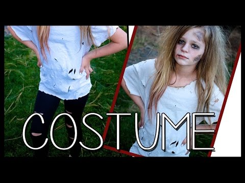 DIY Zombie Costume FREE and EASY!!! | Halloween