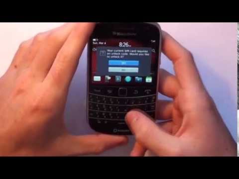 How to Unlock BlackBerry Curve 9220