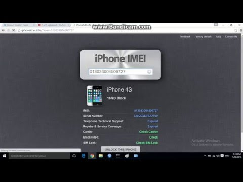 how to check iphone imei